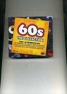 60S THE COLLECTION - CILLA BLACK HOLLIES JEFF BECK CLIFF ANIMALS - 3 CDS - NEW!!