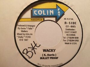 """Bullet Proof """"Wacky"""" and Computer Paul """"Gin Juice Version"""" 1997 Colin Fat"""