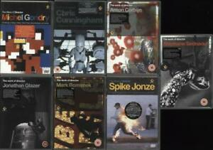The Work Of Director - Volume 1-7 Various Artists DVD UK SEVEN DVDS PALM