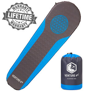 VENTURE 4TH Self Inflating Sleeping Pad for Hiking Camping & Outdoor Adventures