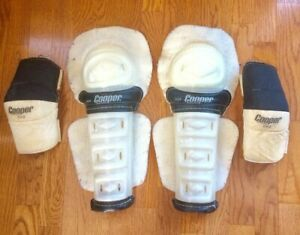 VINTAGE Cooper shin and elbow pads large