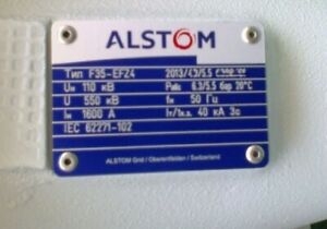Alstom Gas-Insulated SF6 Substation Switchgear 170 kV F35