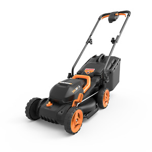 WORX WG779.9 40V Power Share 4.0AH 14quot; Lawn Mower w Intellicut 2X20V Tool Only $119.67