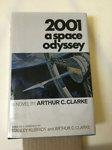 2001 A SPACE ODYSSEY -  ARTHUR C. CLARKE - NEW AMERICAN LIBRARY - 1968 - SIGNED