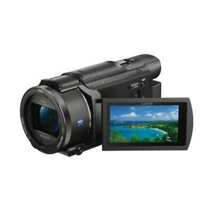 Sony FDR-AX53 16.6MP 4K Ultra HD Handycam Camcorder Black #FDR-AX53B