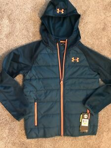 Youth boys Under Armour hoodie jacket New Size XLARGE XL  Retail $85