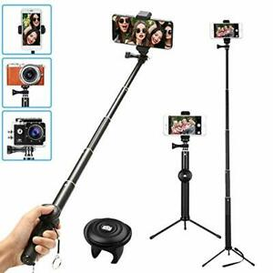 Universal Tripod For Cell Phone Selfie Stick Portable Holder Remote Control NEW