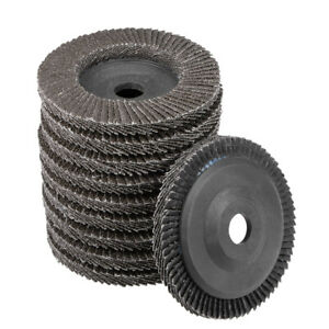 4 Inch Flap Discs 72 Page Grinding Wheels for Angle  Grinders 60 Grits 10 Pcs