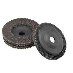 4 Inch Flap Discs 72 Page Grinding Wheels for Angle  Grinders 60 Grits 3 Pcs