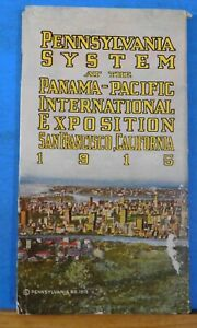 Pennsylvania System at the Panama Pacific International Exposition 1915 $99.00