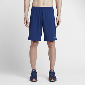 Mens Size S Small Nike 9 Phenom 2 In 1 Running Shorts Blue Obsidian 683283 455 $59.99