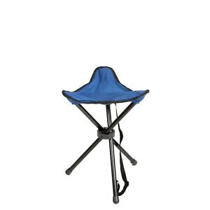 3 Leg Portable Outdoor Triangle Chair Folding Stool Hiking Camping Fishing Seat