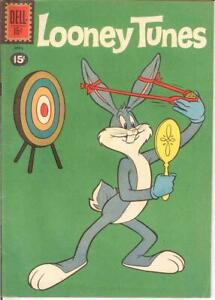 LOONEY TUNES 234 F+   April 1961 BUGS BUNNY COMICS BOOK