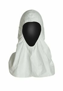 DuPont Tyvek TY657S Pullover Hood Universal Size White (Pack of 100)