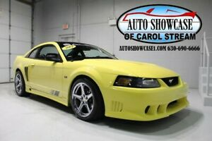 2002 Mustang SALEEN S281 SUPERCHARGED 2002 Ford Mustang SALEEN S281 SUPERCHARGED Zinc Yellow AVAILABLE NOW!!
