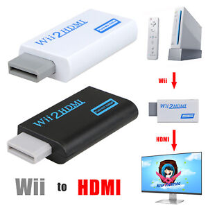 Wii to HDMI 1080P Full HD TV Audio Output Adapter+ Video Output for Nintendo Wii