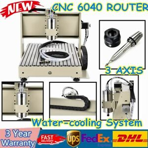 3Axis CNC 6040 220V Router 3D Cutter Engraving Machine wi Water-cooling System