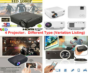 Best Selling 1080P Projector AndroidIOS Home Theater Cinema(Variation Listing)