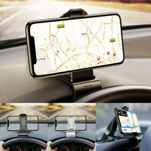 Baseus Clip Bullet Dashboard Adjustable Mount Car Dash Phone GPS Holder Bracket