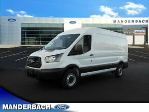 2019 Ford Transit Connect -- 12 Miles Oxford White 3D Medium Roof Cargo Van 3.7L V6 Ti-VCT 24V 6-Speed Autom