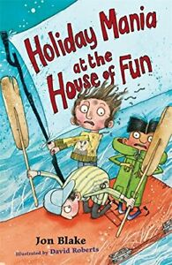 Holiday Mania at the House of Fun Stinky Finger by Blake Jon Paperback Book