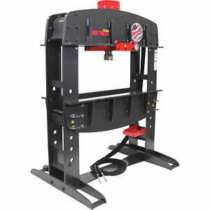Edwards HAT9070 110-Ton Shop Press with Porta Power and PLC-3-Phase 230V