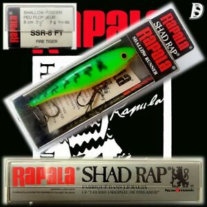 Rapala Lures Shad Rap For Sale | Lures