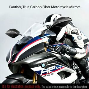 Mirrors 100% carbon Panther black handcrafterd 10mm for Yamaha MT03 MT07 MT09