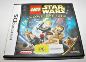 Lego Star Wars The Complete Saga Nintendo DS 2DS 3DS Game [Boxed with manual]