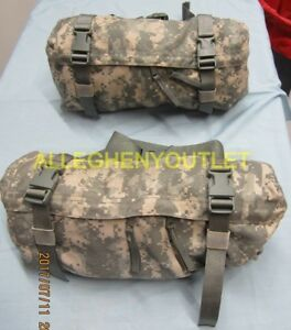 NEW QTY 2 US Military MOLLE ACU Waist Pack Butt Fanny Pouch Hip Bag Digital