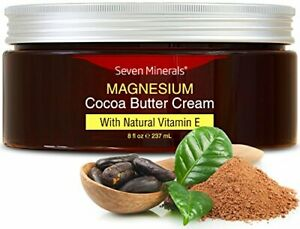 NEW Magnesium Cream for Pain Calm Leg Cramps Sleep & Muscle Soreness. With Moi