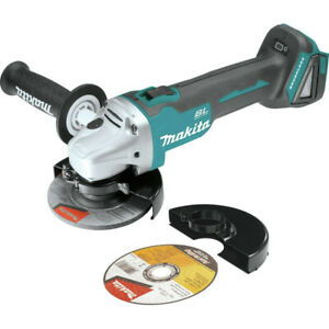 Makita 18V LXT Li-Ion Cordless 4 - 1/2 in Cut - Off/Angle Grinder XAG04Z-R Recon