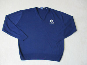 VINTAGE Dallas Cowboys Sweater Adult Large Blue Gray NFL Football Mens 80s $19.44