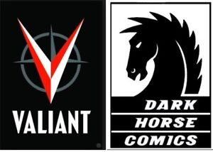 Comic Book Collection Set Lot Buy 2 get 1 FREE!! Valiant & Dark Horse titles