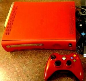 Microsoft Xbox 360 Elite Resident Evil 5 Limited Edition 120GB Red Console +++