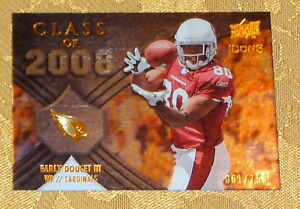 EARLY DOUCETT III Cardinals 2008 UD Icons Class of 08 #61 750 Rookie Card #CO14