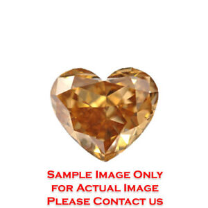 13.9ct Heart Diamond GIA Certified Fancy Light Yellowish BrownVVS1 (2165925846)