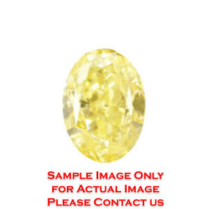 12ct Natural Oval Diamond GIA Certified Fancy Light YellowVS2 (2171456269)