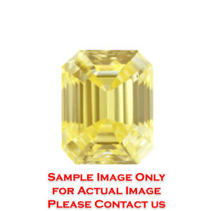 48.66ct Emerald Diamond GIA Certified Light Brownish YellowSI1 (1162002577)