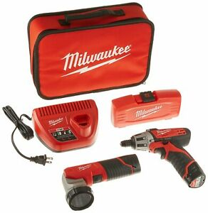 Milwaukee Electric Tools 2482-22 Milwaukee M12 Screwdriver W Led Worklight