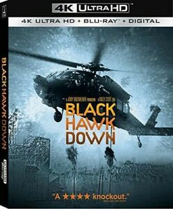 Black Hawk Down [New 4K Ultra HD] 3 Pack Dubbed Subtitled Widescreen