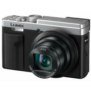 Panasonic Lumix DC-ZS80 Digital Camera - Silver #DC-ZS80S