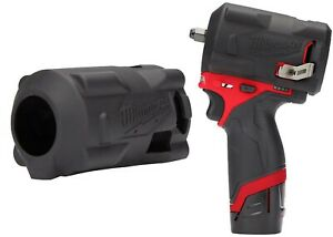 Milwaukee M12 FUEL STUBBY Impact Wrench Protective Boot New Free Shipping USA
