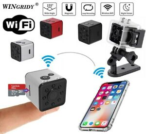 SQ13 Mini FULL HD 1080P + WiFi Waterproof Camera Sport Action Record Cam Holder