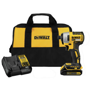 DEWALT 20V MAX Compact Brushless 1/4 in. Impact Driver DCF787C1R Recon