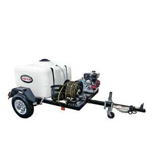 SIMPSON 95001 Trailer 3800 PSI 3.5 GPM Mobile Washing System New