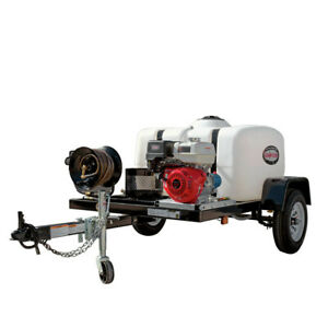 SIMPSON 95002 Trailer 4200 PSI 4.0 GPM Mobile Washing System New
