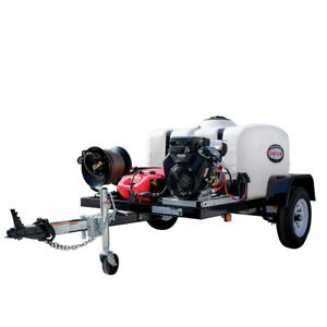 SIMPSON 95004 Trailer 4200 PSI 4.0 GPM Mobile Washing System New