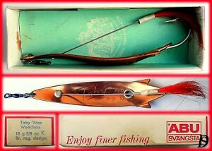 Vintage ABU Svängsta Record Spoon Toby Vass 18gr K New in Box available 1966-69