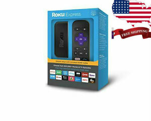 Roku Express 3900R Easy High Definition (HD) Streaming Media Player